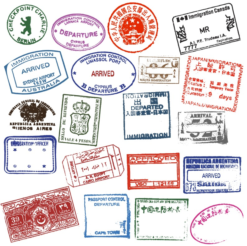 passport-stamps | Immigration Law Consultants
